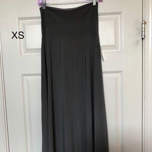 XS Slinky maxi skirt- NWTs